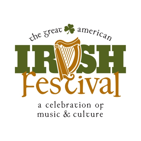 Irish Fest Logo Stacked Tagline
